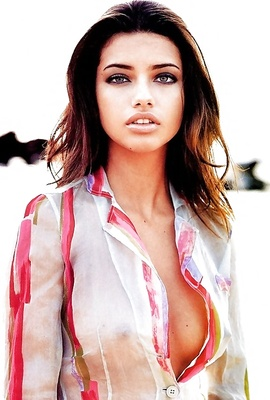 Brazilian supermodel and actress Adriana Lima HERE