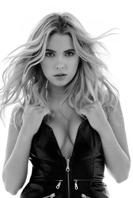 American actress and model Ashley Benson