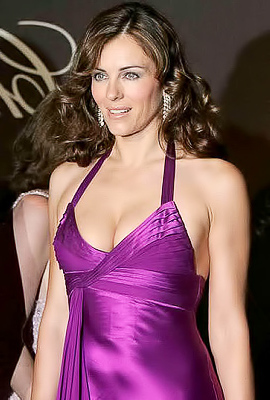 Elizabeth Hurley is a real stunner