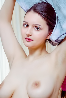 Adeline Allows Enjoy Her Curvaceous Body From Every Alluring Angle